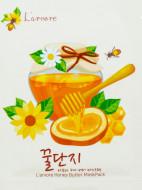 Тканевая маска с медом и пептидами L'arvore Honey Butter Mask Pack 25 г: фото