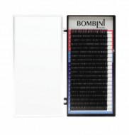 Ресницы Bombini Черные, 20 линий, изгиб L+ - MIX (7-14) 0.10: фото